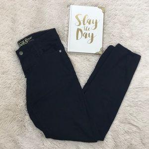 Old Navy Rockstar Black Skinny Jeans